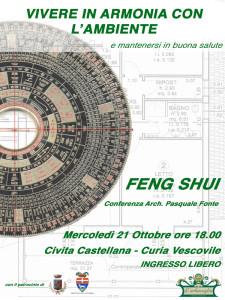 Conferenza feng sui l'erbavoglio civita castellana