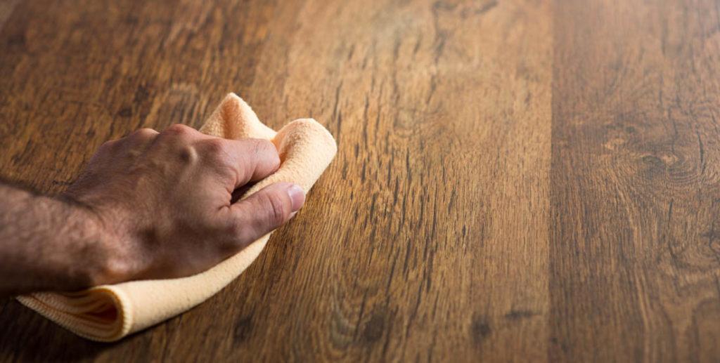 cera aromatizzata legno