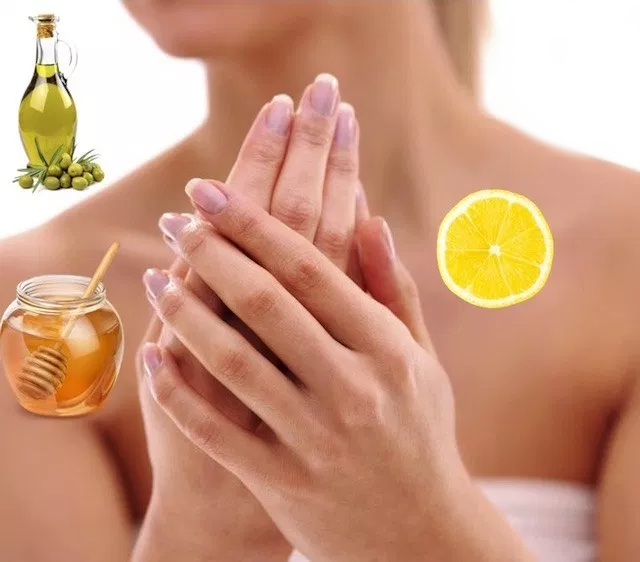 crema mani limone miele olio d'oliva